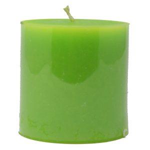 Biokerze Moon grün