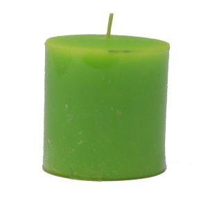Biokerze Sun grün
