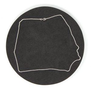 Halskette Kugel, 925er Sterlingsilber