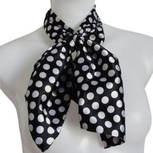 Accessoire Scarf (Schal) schwarz/weiß