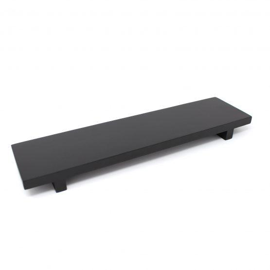 Schale Board Holzschale schwarz