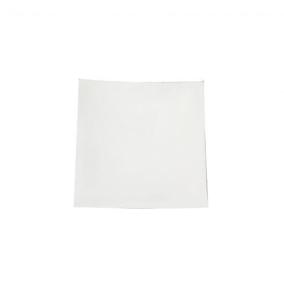 Schale Quadrat schwarz/weiß Holzschale