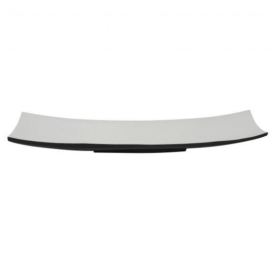 Schale Schiff (groß) schwarz/weiß Holzschale