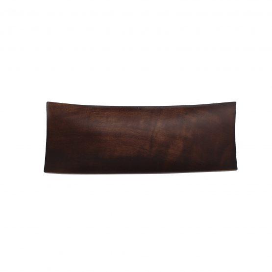 Schale Schiff (klein) braun Holzschale