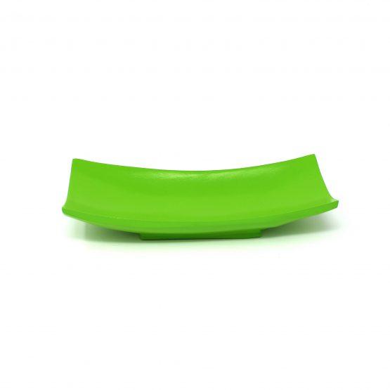 Schale Schiff (klein) grün Holzschale