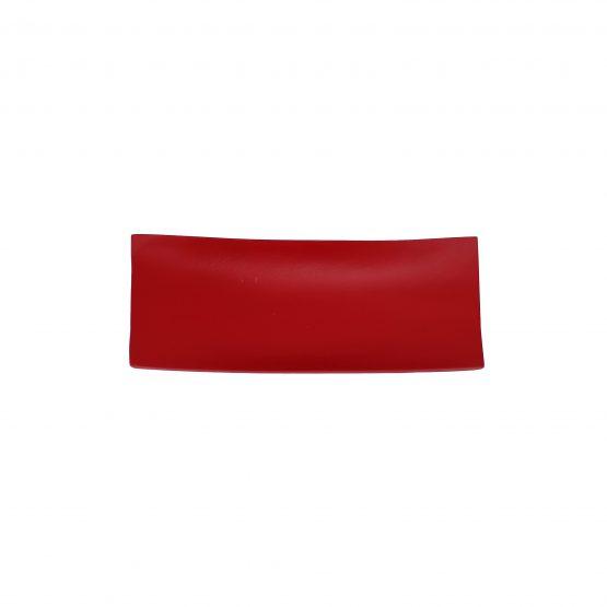 Schale Schiff (klein) rot Holzschale