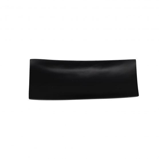 Schale Schiff (klein) schwarz Holzschale