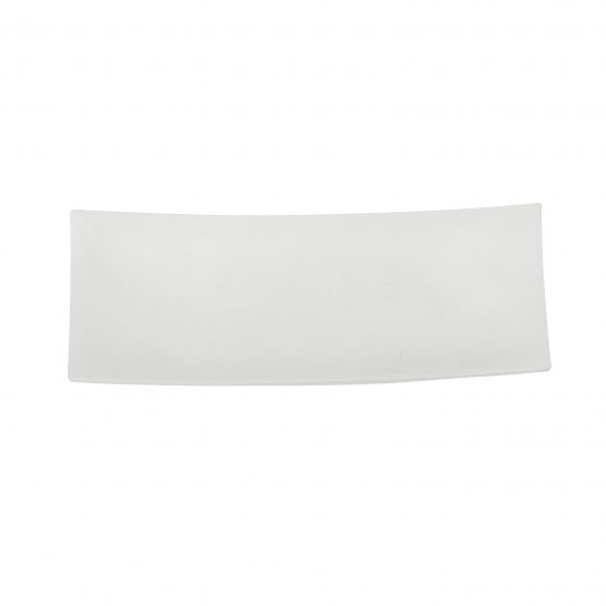 Schale Schiff (klein) weiß Holzschale