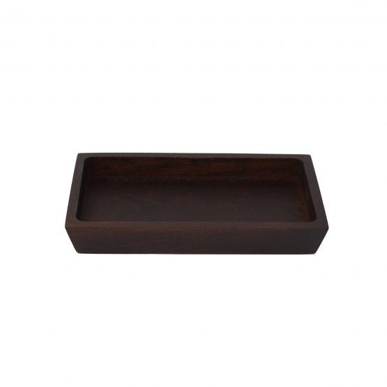Schale Tablet Holzschale