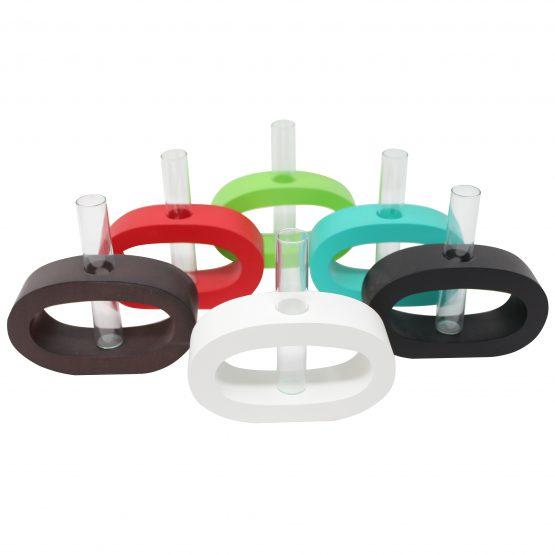 Vase Oval (klein) inkl. Glaseinsatz